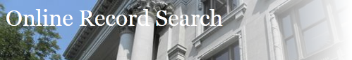 Online Record Search